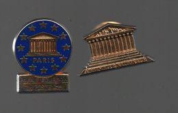 Pin's PALAIS BOURBON ET ASSEMBLEE NATIONALE ARTHUS BERTRAND......BT8 - Arthus Bertrand