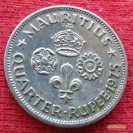 Mauritius 1/4 Rupee 1975 KM# 36  Mauricia Maurice - Maurice