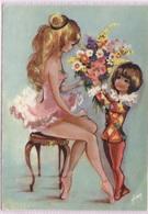 CPSM - Fantaisie Illustrée VONY - SCENE ENFANTINE (Danseuse) - Edition Yvon - Dessins D'enfants