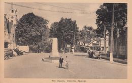 Vintage - Danville Quebec Que. - The Square - Animated - Cars - VG Condition -  2 Scans - Quebec