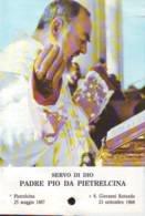 Reliquia Servo Di Dio Padre Pio All'altare, Santino Pieghevole Con Preghiera - Religione & Esoterismo
