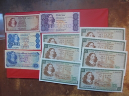LOT 11 BILLETS SOUTH-AFRICA NEUFS Ou CIRCULER - Coins & Banknotes