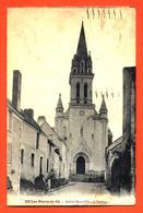 """CPA 49 Les Ponts De Cé """" Saint Morille - L'église """" - Les Ponts De Ce"""