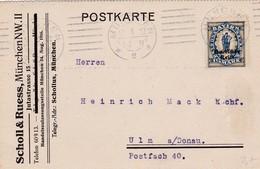 Karte Aus München 1922 - Allemagne