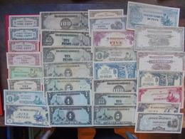 "LOT 30 BILLETS ""JAPANESE GOVERNEMENT"" NEUFS Ou CIRCULER - Coins & Banknotes"