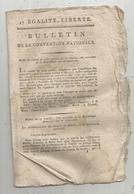 Bulletin De La Convention Nationale,l'an III , Retards Des Visas ,district De Nantes, 8 Pages,frais Fr 1.95 E - Decrees & Laws