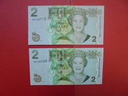 "LOT 2 BILLETS ""FIJI"" NEUFS Ou CIRCULER - Coins & Banknotes"