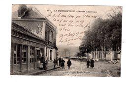 CPA 27 - La Bonneville - Route D'Evreux , Mercerie Lombardet - France