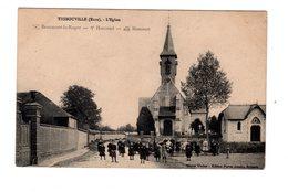 CPA 27 - Thibouville ( Eure ) L'eglise , Animation - Otros Municipios