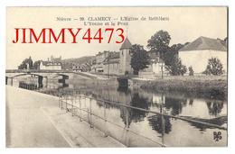 CPA - L' Yonne Et Le Pont - L'Eglise De Bethléem - CLAMECY 58 Nièvre - Edit. Le Trèfle M I T L N° 99 - Scans Recto-Verso - Clamecy