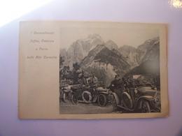 4-2--------publicité -----fiat---i Generalissimi Joffre Cardona E Porro Sulle Alpi Carniche--------voir Recto Verso - Publicité