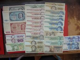 "LOT 30 BILLETS ""POLOGNE"" NEUFS Ou CIRCULER - Coins & Banknotes"