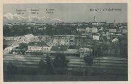 Kranj - Kolodvor Railway Station Bahnhof - Slovenia