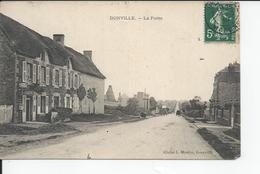 DONVILLE  La Poste 1910 - Frankreich