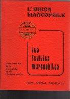 Feuilles Marcophiles  Année Complete 1975 : Special Arphila 75 N°200 - Français (àpd. 1941)