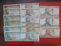 "LOT 15 BILLETS ""KENYA"" NEUFS Ou CIRCULER - Coins & Banknotes"