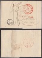 BELGIQUE BRUXELLES 1833 VERS SOLIERE  (DD) DC-2135 - 1830-1849 (Belgique Indépendante)