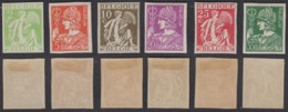 BELGIQUE 1932 COB 335/40 NON DENTELES  (DD) DC-2155 - België