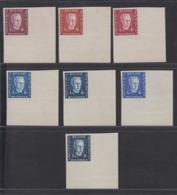 BELGIQUE 1947 ESSAIS DU PRINCE CHARLES TYPE DE BAST COULEURS NON ADOPTES   (DD) DC-2158 - Proofs & Reprints