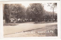 Real Photo Véritable - Vintage 1940-1950 - Warwick Québec Qué. Canada - Chalets Des Rois -  Condition: See 2 Scans - Quebec