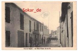 AK 1940 Rue De L'Eglise - Le Bois-Plage (Ile-de-Ré) Frankreich, France - Ile De Ré