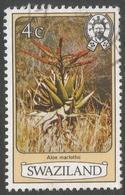 Swaziland. 1980 Flowers. 4c Used. SG 343A - Swaziland (1968-...)