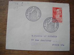 1952 4e Centenaire Sainte Chapelle Vincennes, Scotem - Marcophilie (Lettres)