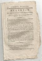 Bulletin De La Convention Nationale,l'an III , Département De JEMMAPPES, 8 Pages,frais Fr 1.95 E - Decrees & Laws