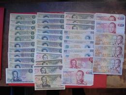 "LOT 35 BILLETS ""LUXEMBOURG"" NEUFS Ou CIRCULER - Coins & Banknotes"