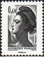 France N° 4788 ** La Vème République Au Fil Du Timbre - Liberté De Gandon - France