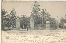 CADIZ PARQUE GENOVES DORSO SIN DIVIDIR - Cádiz