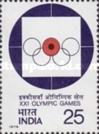 USED STAMPS India - Olympic Games, Montreal-  1975 - India