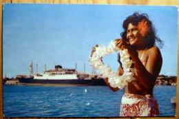 PIN UP TAHITI VAHINE FEMME DEMI NUE JOYAU DES MERS DU SUD PEARL OF THE SOUTH SEA PHOTO ROGER FERRAND C7094 - Pin-Ups