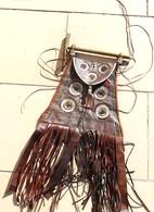 Sac Touareg Avec Son Marteau A Sucre - Art Africain