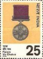 USED STAMPS India - Param Vir Chakra Commemoration-  1975 - India