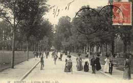 SOISSONS  L'Avenue Du Mail Promeneurs RV - Soissons
