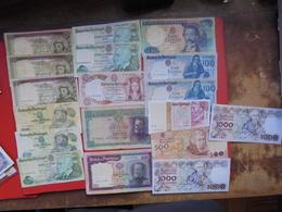 "LOT 18 BILLETS ""PORTUGAL"" NEUFS Ou CIRCULER - Coins & Banknotes"