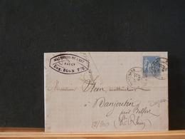 82/900 LETTRE FRANCE  1885 - 1876-1898 Sage (Type II)
