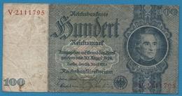DEUTSCHES REICH 100 Reichsmark  Letter B  # V.211179524.06.1935  P# 183a - [ 4] 1933-1945: Derde Rijk