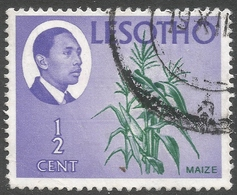 Lesotho. 1967 Definitives. ½c Used. SG 125 - Lesotho (1966-...)