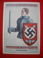 """Color-Karte """"Nürnberg - Reichsparteitag 1934"""" , Gelaufen TOP !! - Deutschland"""