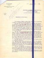Brief Notaris Fobe Gent  - Naar Kadaster 1931 - 3 Stuks - Vieux Papiers