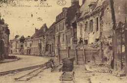 LA FERE  Aisne Rue De Bourget RV - Autres Communes