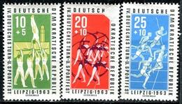 DDR - Mi 963 / 965 - ** Postfrisch (B) - Turn- Und Sportfest Leipzig - DDR