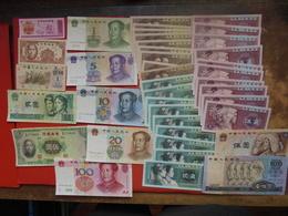 "LOT 40 BILLETS ""CHINE"" NEUFS Ou CIRCULER - Coins & Banknotes"