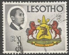 Lesotho. 1967 Definitives. 1r Used. SG 135 - Lesotho (1966-...)