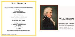 Superlimited Edition CD Karel Ancerl. MOZART. CONCERTO FOR BASSOON AND ORCHESTRA, Es-dur. - Klassik
