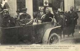 Militaria La Grande Guerre 1914 Soissons Mme MACHEREY  La Vaillante Dame De France Qui Repondit Energiquement Aux Allema - France