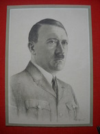 """Portrait-Feldpostkarte """"Der Führer Und Seine Generale Des Heeres"""" , Beschrieben - Deutschland"""