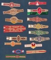 Lettre F  16 Bagues De Cigare Différentes - Cigar Bands